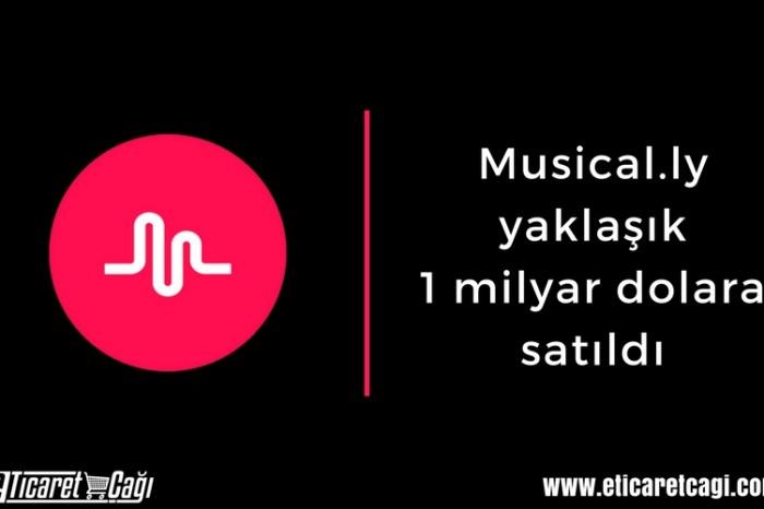 Musical.ly yaklaşık 1 milyar dolara satıldı