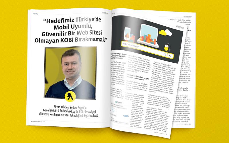 Yellow Pages - Serhad Akkoç Röportajı