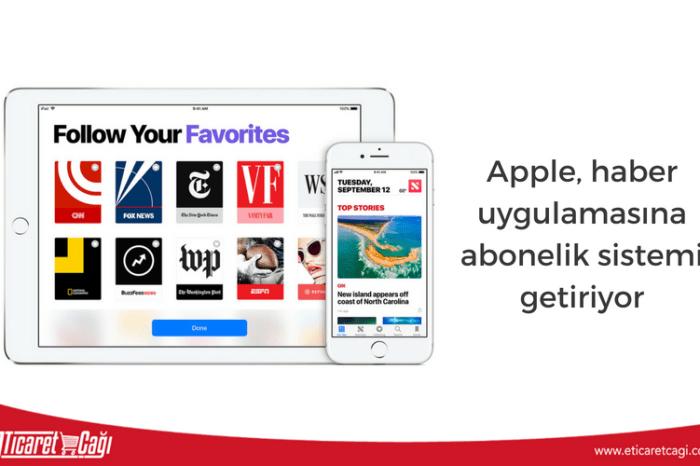 Apple, haber uygulamasına abonelik sistemi getiriyor