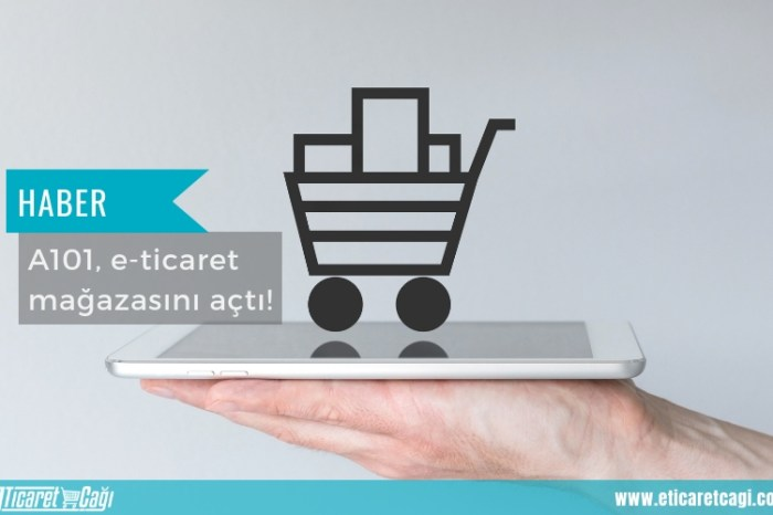 A101, e-ticaret mağazasını açtı!