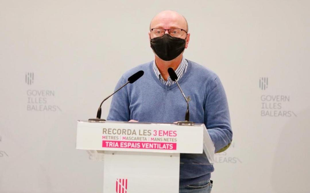 José Luis García, Secretario General de CCOO Illes Balears