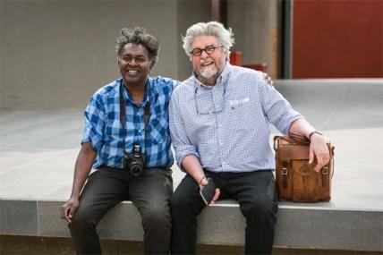 Darryl David and Etienne van Heerden (Photo: Amy Coetzer)