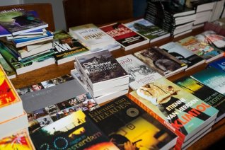 Fogarty's Bookshop, Port Elizabeth, had a book table there (Photo: Amy Coetzer)