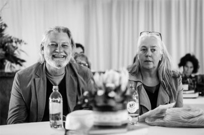 Architect and heritage expert Raymond Smith and Lien Botha (Photo: Amy Coetzer)