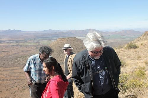 Darryl David, Sheritha David, Raymond Smith and Etienne van Heerden (Photo: Lien Botha)