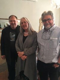 With novelists Alexander Strachan and Lien Botha, Victoria Manor