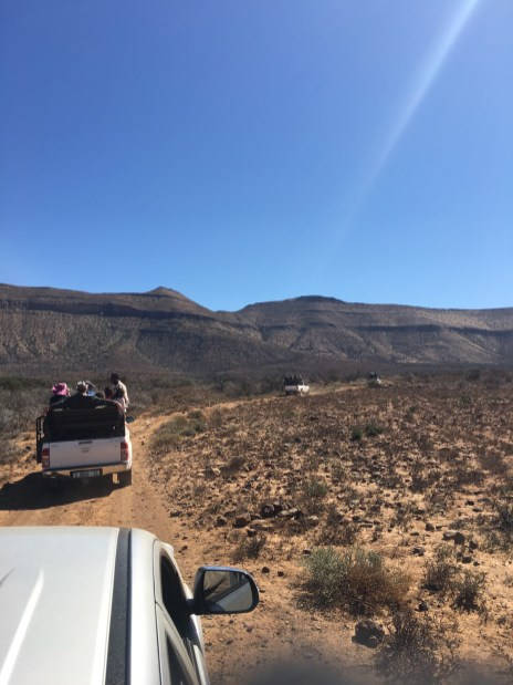On bakkies at Buffelshoek (Photo: Amy Coetzer)