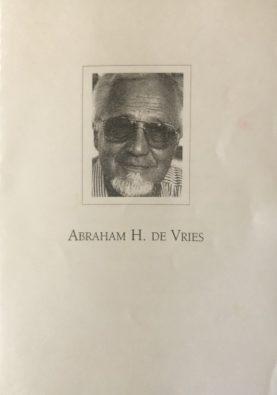 AH de Vries 1