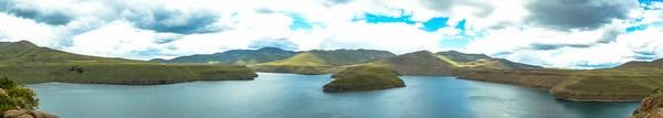 Lesotho Katse Dam