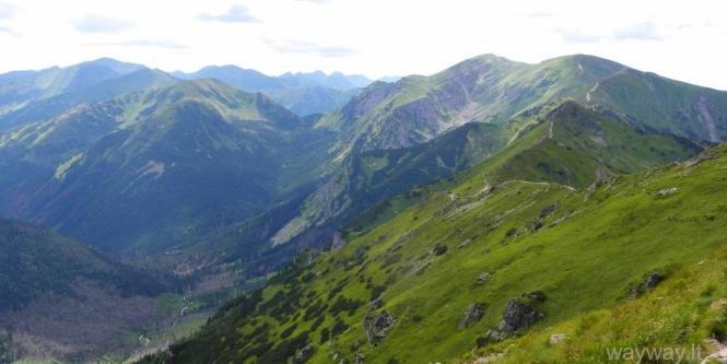 Slovakija. Nuo Belianska urvų iki Vodopad Skok krioklių