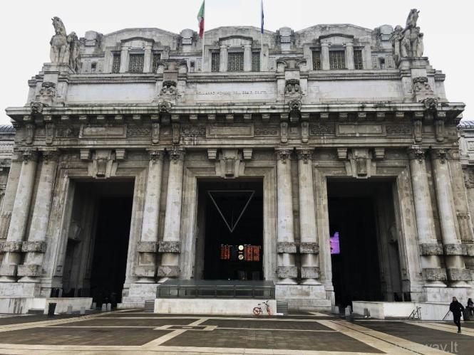 Italija. Praktiniai patarimai apie Milano metro ir traukinius