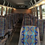 Mid Size Coach Bus Interior