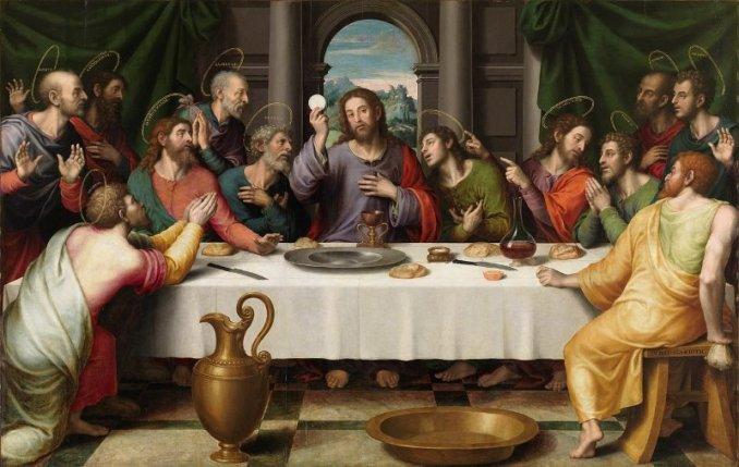 Juan de Juanes, 'The Last Supper' (circa 1562)
