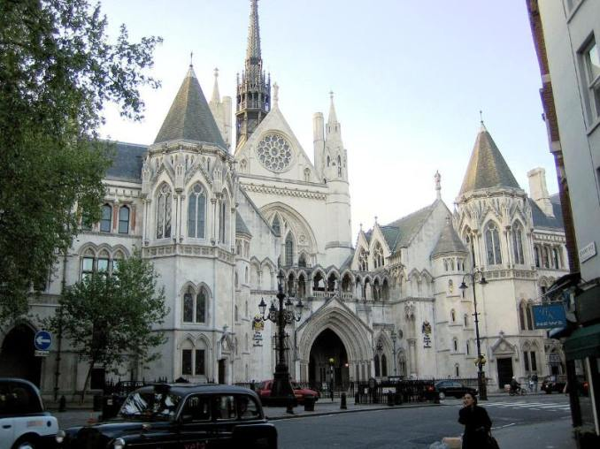 Royal Courts of Justice, London. Courtesy of Flickr / Anthony Majanlahti (https://www.flickr.com/photos/93226994@N00) under Creative Commons Licence 2.0
