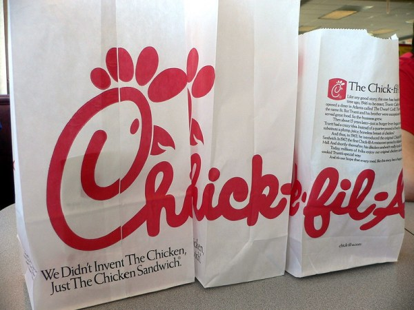 Photo of Chick-fil-A delivery. Photo courtesy of Flickr / Scuddr under Creative Commons Attribution-NonCommercial 2.0 Generic licence