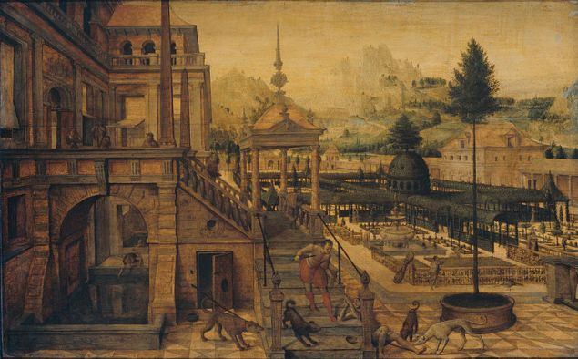 Painting of the Rich Man and Lazarus, by Hans Vredeman de Vries (1527 — circa 1607). Courtesy of Wikimedia Commons