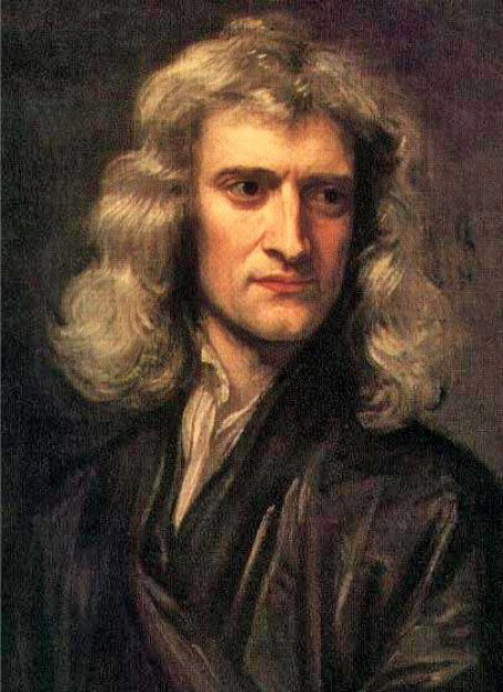 Sir Isaac Newton (1642—1727). Courtesy of Wikimedia Commons
