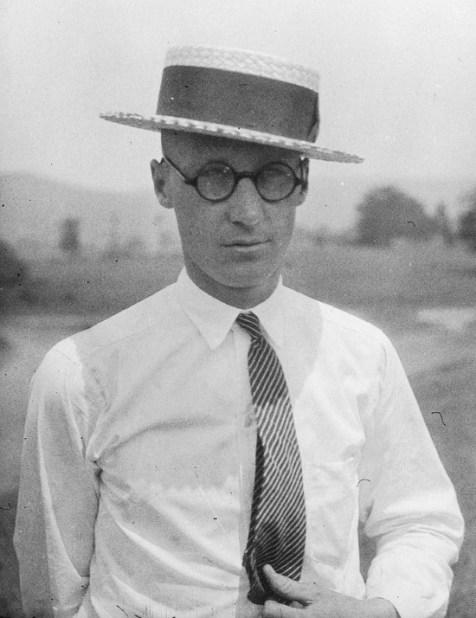 Photograph of John T. Scopes, taken in 1925. Courtesy of Wikimedia Commons