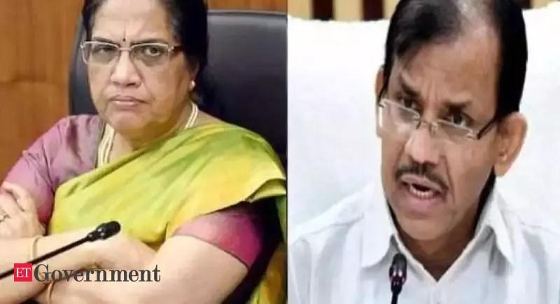 आंध्र प्रदेश: एचसी ने पूर्व सीएस निलम सावनी, पीआर सचिव जीके द्विवेदी को अवमानना के लिए बुलाया – ईटी सरकार