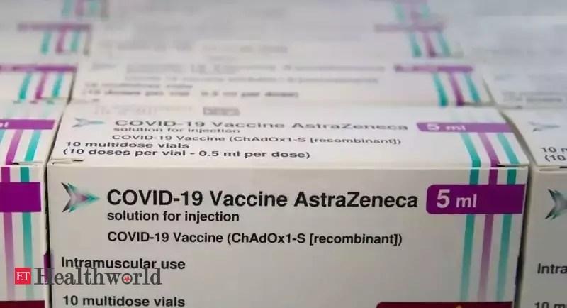 WHO says AstraZeneca benefits outweigh risks; assessing latest data – ET HealthWorld