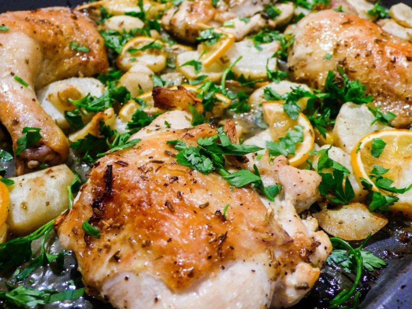 Kylling med jordskokk og sitron (2 of 2)