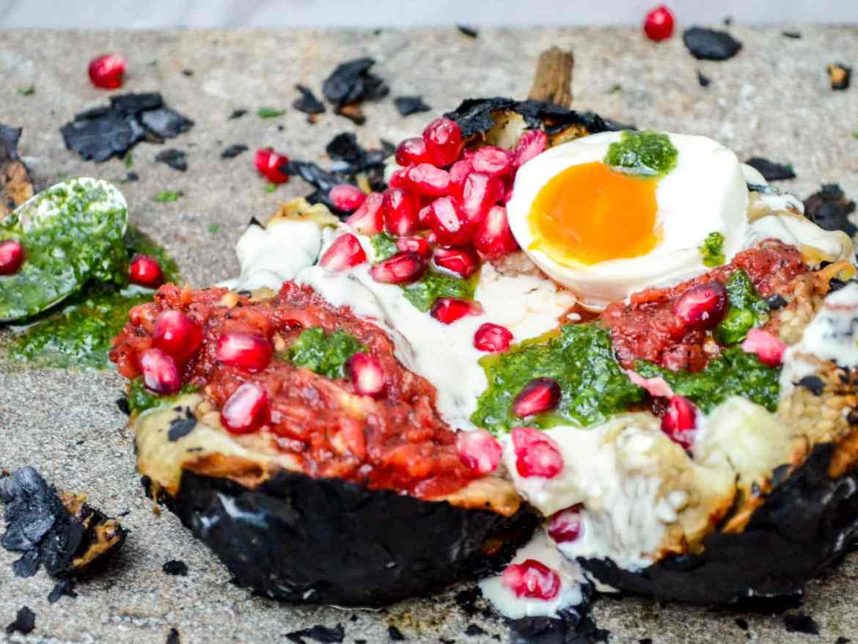 Aubergine med the works - oppskrift / Et kjøkken i Istanbul