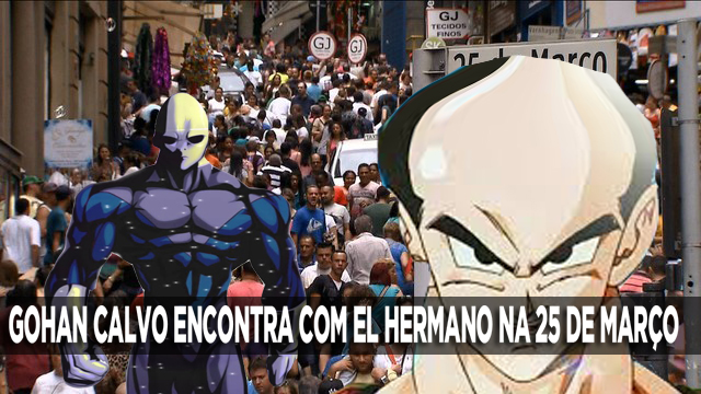 EL HERMANO ENFRENTA GOHAN CALVO NA 25 DE MARÇO, NO SEU PRIMEIRO DIA NA TERRA