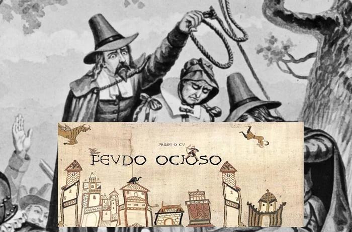 BOATOS DA TABERNA: SVRTO DE PESTE NEGRA NO FEVDO FOI CAVSADO POR BRVXA QVEIMADA