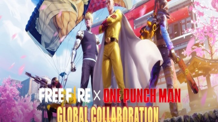FREE FIRE TERÁ CROSSOVER COM ONE PUNCH MAN