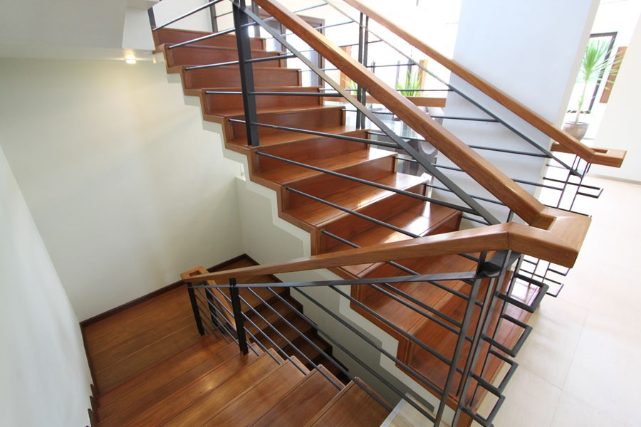 Modern Zigzag Stairs In Wood Steel Concrete – Eugene T   Zig Zag Staircase Design   Stringer   Dual Staircase   Chain Staircase   Sawtooth   Steel