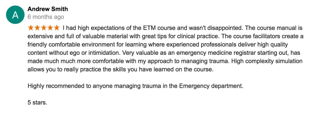 ETM review 4