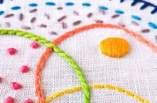 10 essential hand embroidery stitches