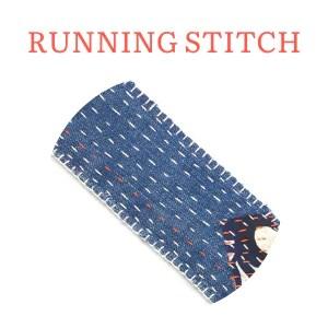 running stitch hand embroidery