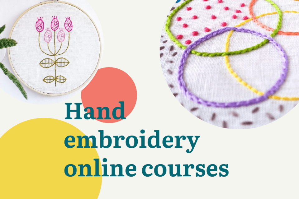 Hand embroidery online courses