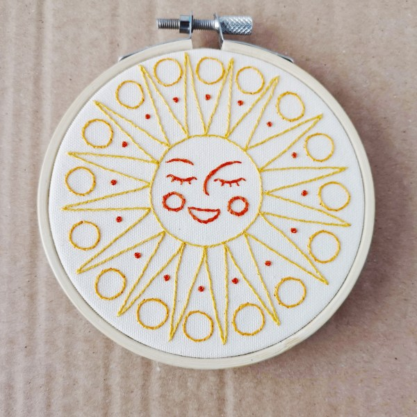 Young Sun hand embroidery pdf pattern 3