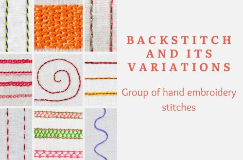 Backstitch and its variations