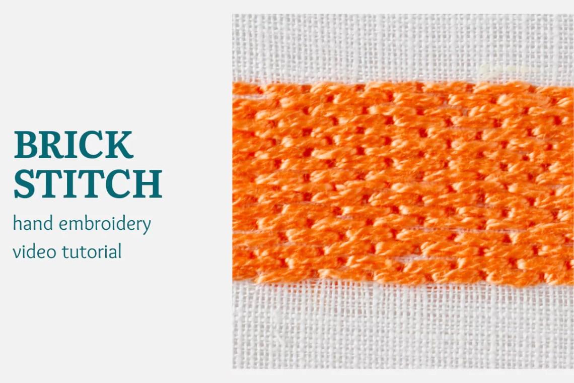 Brick stitch video tutorial