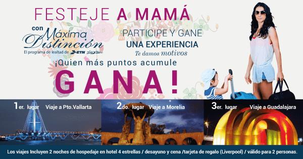 ¡Festeja a Mamá con Máxima Distinción!