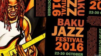 'Jazz-style' autumn in Baku