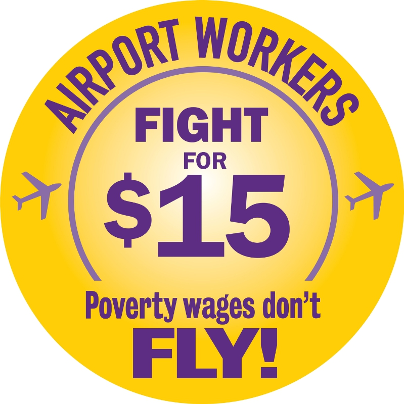 Sea-Tac Airport workers win recognition of their union