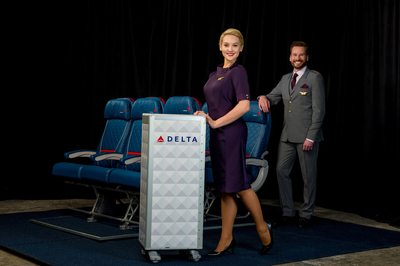Bringing glamour back to flying: Delta unveils Zac Posen-designed uniforms
