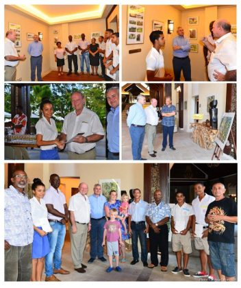 Seychellois art work at resort supports cultural tourism concept