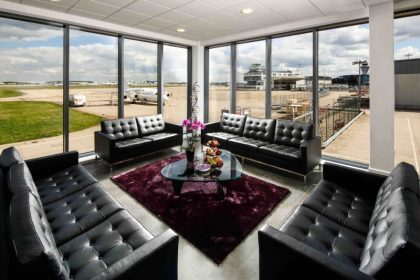 Marshall Aviation Services showcases its Birmingham Airport FBO