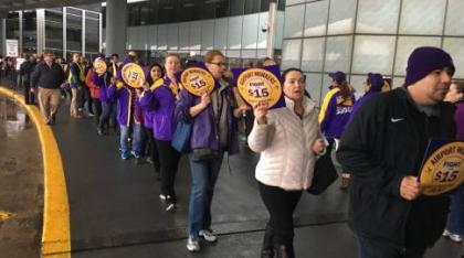 600 workers strike at Chicago O'Hare Airport, flight delays expected