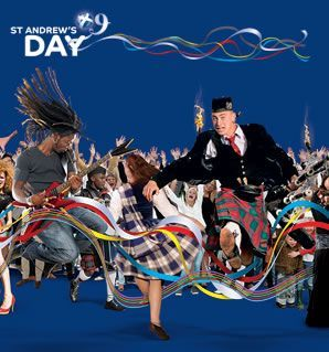 Happy St Andrew's Day, Europe! With love from Scotland