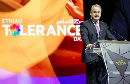 Tolerance essential to Etihad Airways' success