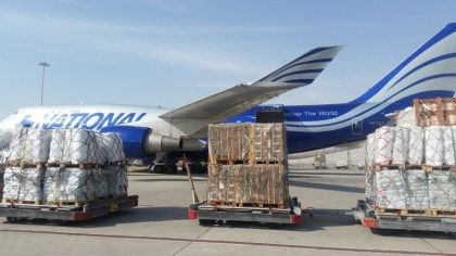 National Airlines joins global Haitian relief effort