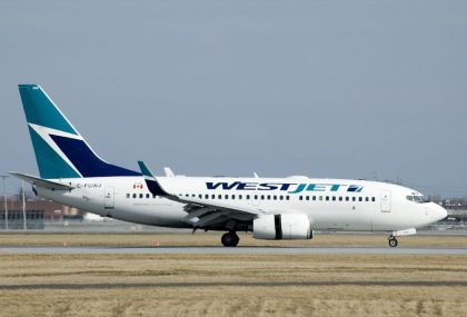 WestJet says hello again, Hamilton