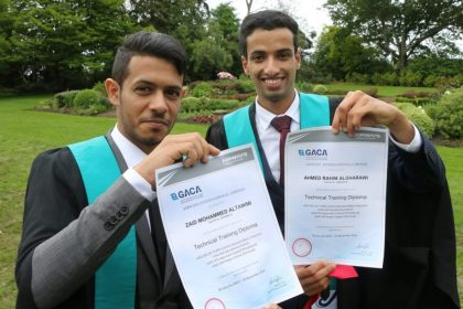 Saudi Arabian air traffic controllers graduate in New Zealand