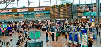 Helsinki Airport offers employment equalling 3,000 person years